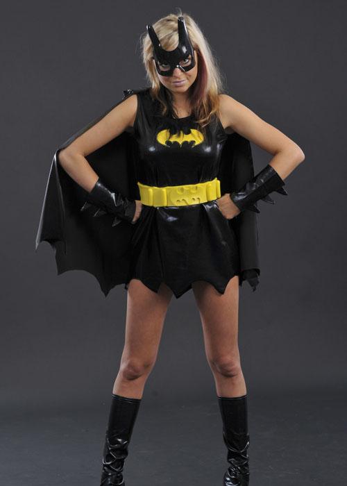 Womens Petite Size Batgirl Costume