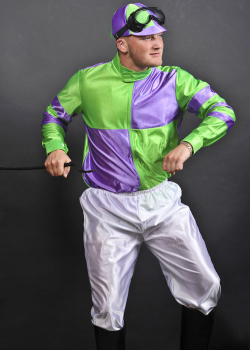 Irish Jockey Horse Rider Fancy Dress Costume [2665] - Struts Party Superstore