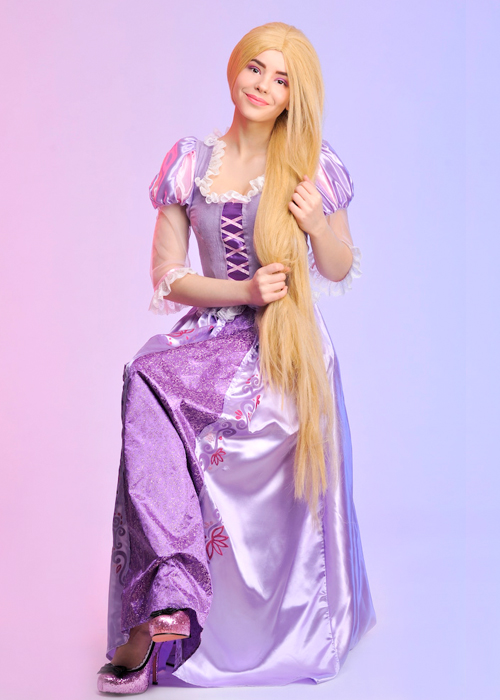 Adult Womens Disney Rapunzel Costume  sc 1 st  eBay & Adult Womens Disney Rapunzel Costume | eBay