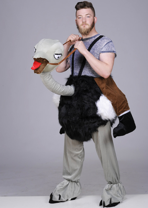 Adult Ride On Ostrich Costume