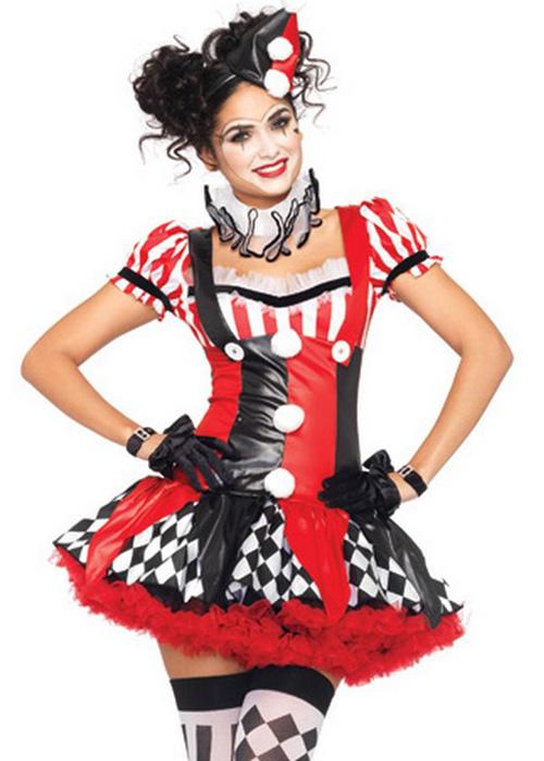 ladies sexy harlequin clown costume ladies sexy harlequin clown costume. Black Bedroom Furniture Sets. Home Design Ideas