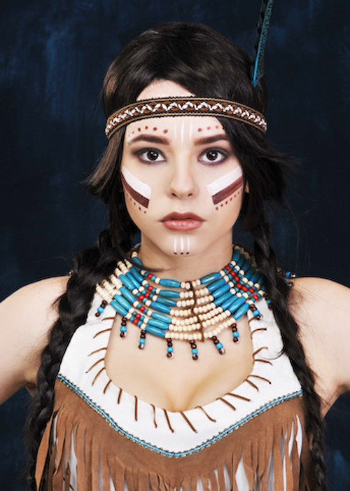 Reviews: Blue Native American Indian Collar Necklace