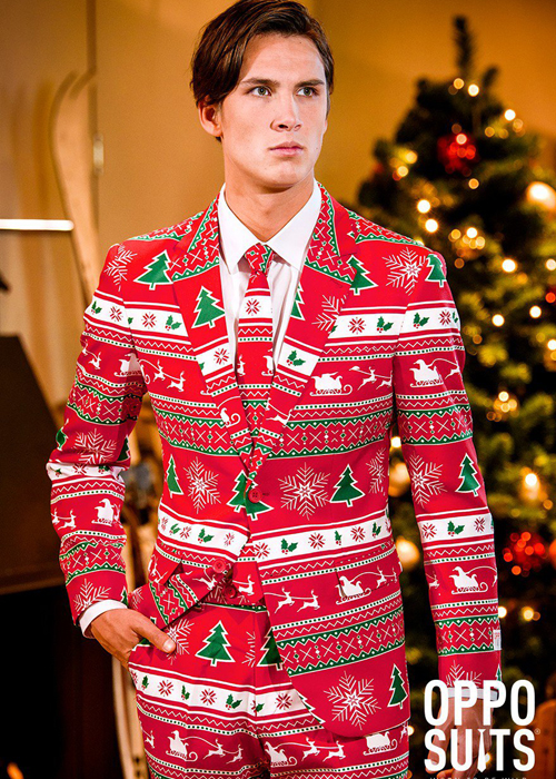 mens christmas winter wonderland oppo suit - Christmas Suits For Mens