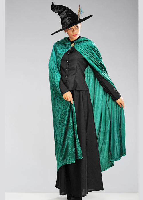McGonagall Style Fancy Dress Square Glasses