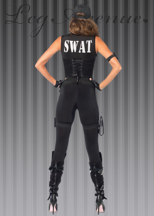 & Leg Avenue Deluxe SWAT Commander Costume