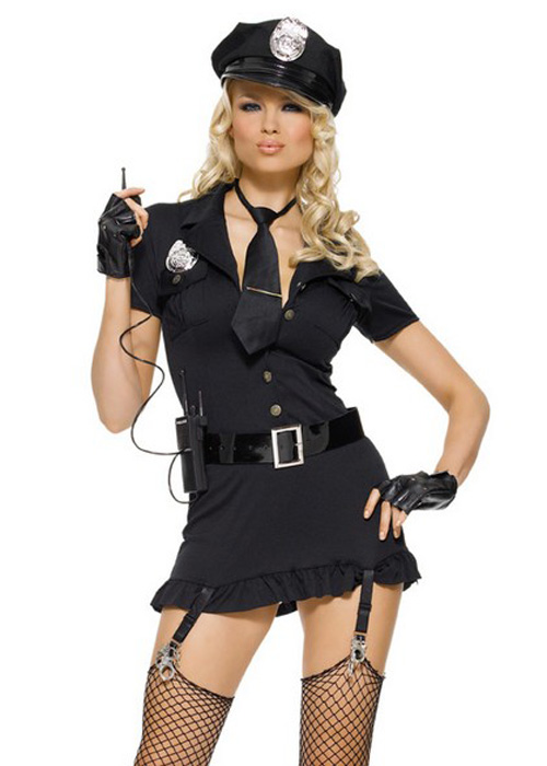 Police costume women sexy