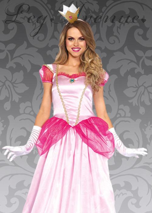 sc 1 st  Struts Fancy Dress & Leg Avenue Long Classic Pink Princess Costume