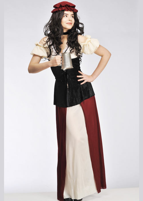 Plus Size Medieval Tavern Wench Costume