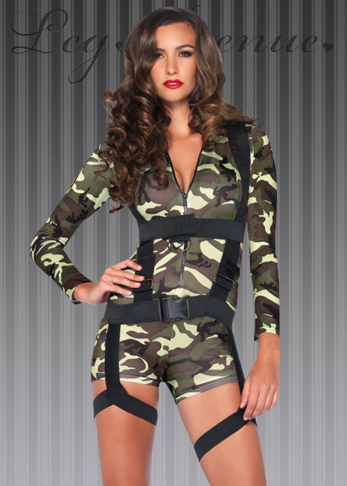 sc 1 st  Struts Fancy Dress & Womens Commando Army Girl Costume