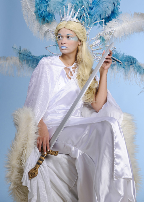 Womens Narnia The White Witch Style Costume