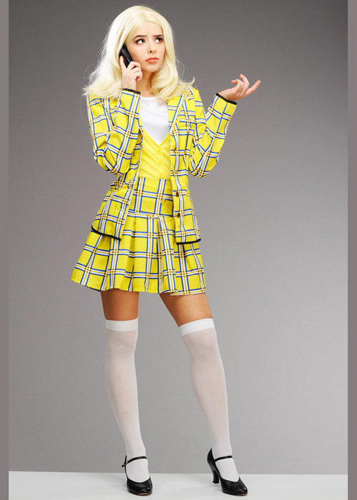 37136b12962 Womens 90s Yellow Cher Clueless Costume  20597  - Struts Party Superstore