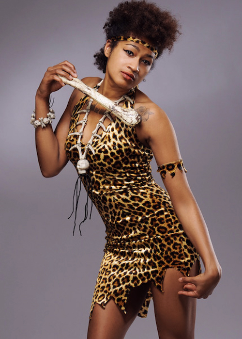 African Fancy Nails Quinceanera Nails Quinceañera Nails: Ladies Leopard Zulu Warrior Style Tribal Costume