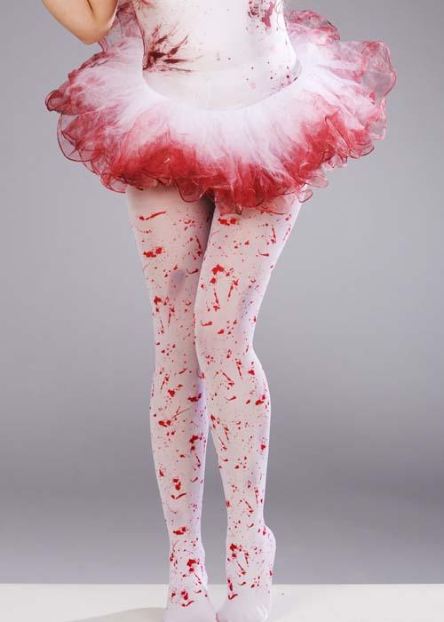 Womens Halloween Bloody Zombie Fairy Ballerina Tutu